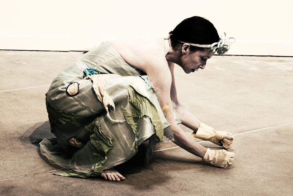 Solo Party Dress - Constance Humphries - Butoh Dance