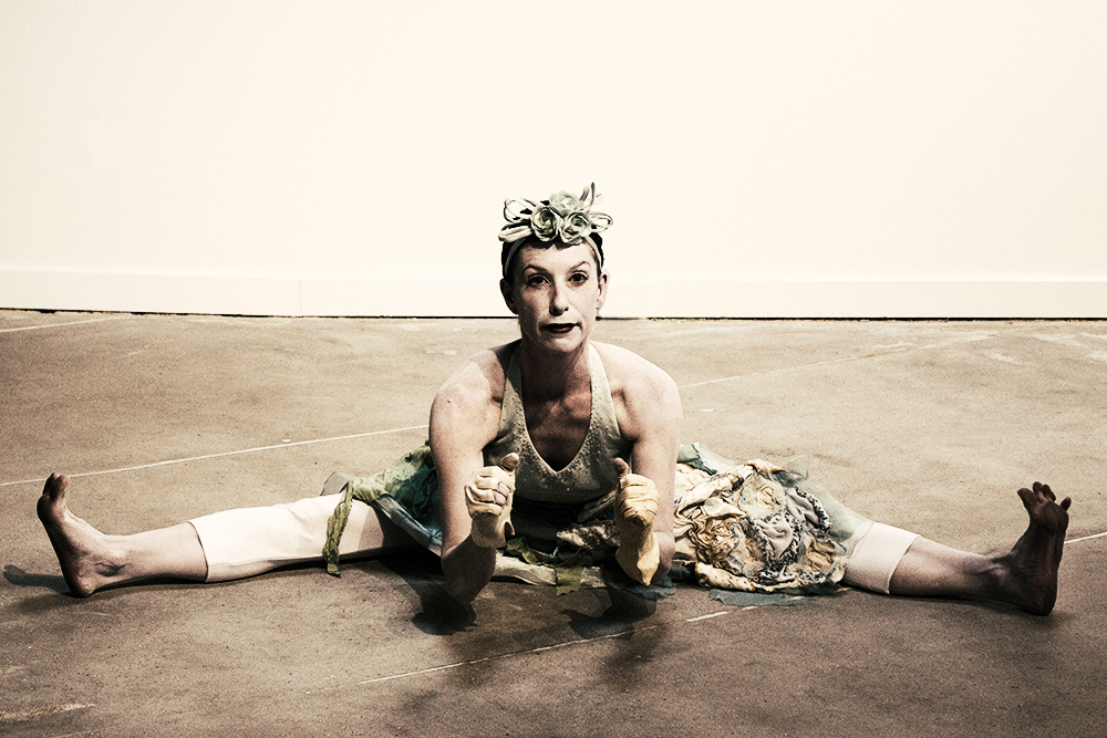 Solo Party Dress - Constance Humphries - Butoh Dance
