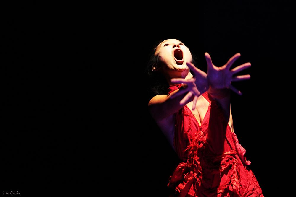 Asheville Butoh Festival Yumiko Yoshioka